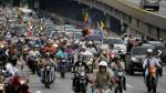 Protestas contra Nicolás Maduro continúan: Esta vez en auto, moto y caballos [FOTOS] - Noticias de asamblea nacional de venezuela