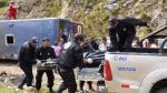 Cerro de Pasco: Aumentan a 12 los fallecidos tras choque frontal entre bus y camión - Noticias de daniel alcides carrion
