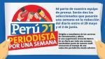 Perú21 te invita a convertirte en 'Periodista por una semana' - Noticias de hoja de vida