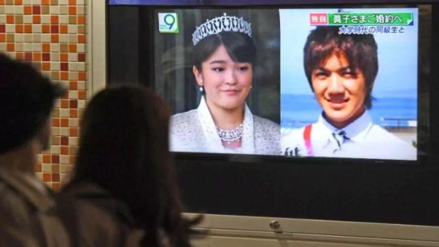 Princesa japonesa dejará su estatus real para casarse con compañero de clase (AP)