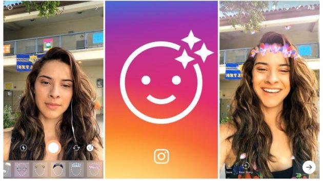 Instagram presenta 8 filtros al estilo de Snapchat (Instagram)