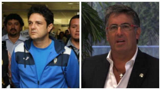 José Francisco Zaragoza y Gustavo Salazar. (Composición)