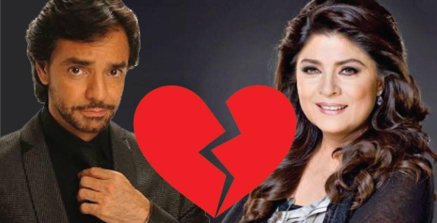 Victoria sostuvo una relación amorosa con el famoso actor Eugenio Derbez.