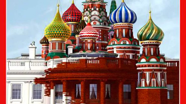 Revista Time dedica su portada al 'affaire' entre Estados Unidos y Rusia (Time)