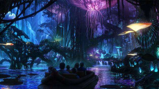 Disney: Conoce el nuevo parque temático de 'Pandora', ambientado en la película Avatar (Disney)