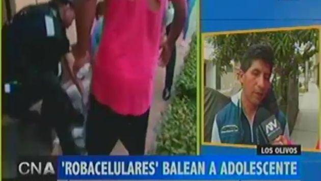 Padres de joven baleada en Los Olivos solicitan ayuda para costear tratamiento. (ATV)