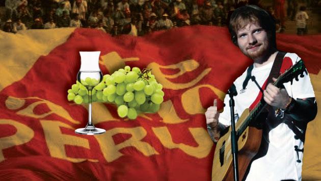 Sheeran se presentó el pasado 13 de mayo en el Estadio Nacional. (Composición)