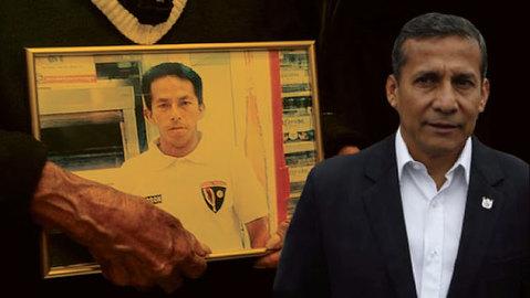 Ollanta Humala negó que tenga alguna vinculación en la muerte de Fasabi.