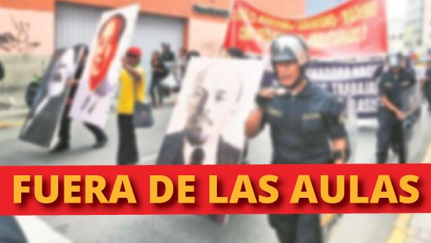 Aplicarán despidos a docentes implicados en delitos de apología al terrorismo. (Perú21)