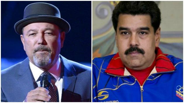 Rubén Blades le dice de todo a Nicolás Maduro en fulminante mensaje por Facebook. (Composición)