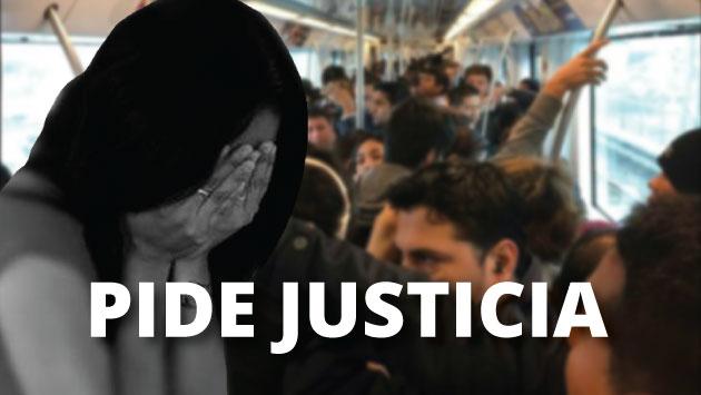 Metro de Lima: Víctima de acoso sexual callejero pide ayuda en proceso legal. (Composición)