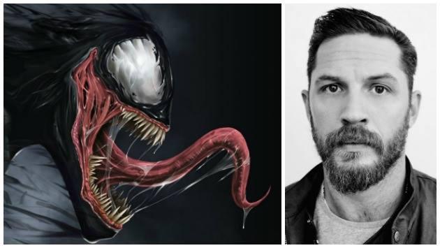 Sony: Tom Hardy interpretará a 'Venom' en su nueva película 'spinoff' de Spiderman (Composición)