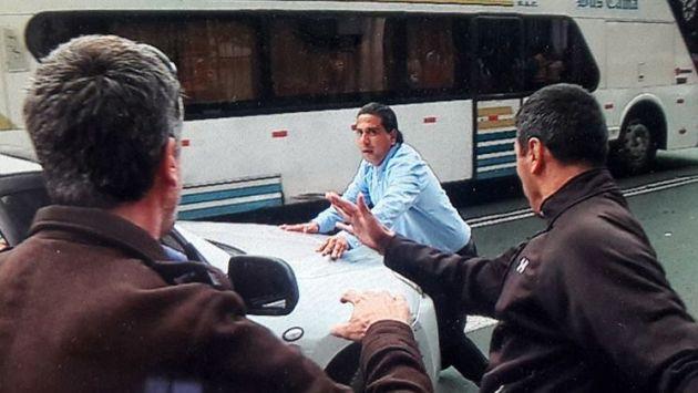 El sospechoso huyó a su salida de la comisaría de Barranco (Latina)