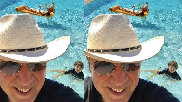Esposo de Thalía compartió imagen que comprueba felicidad familiar junto a cantante. (Foto: @tommymottola)