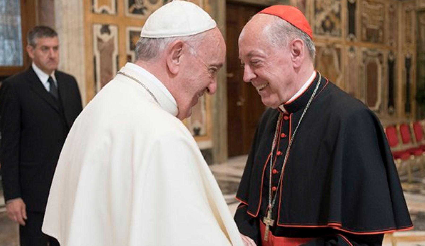 El papa Francisco tiene programado visitar el Perú, anuncia Cipriani