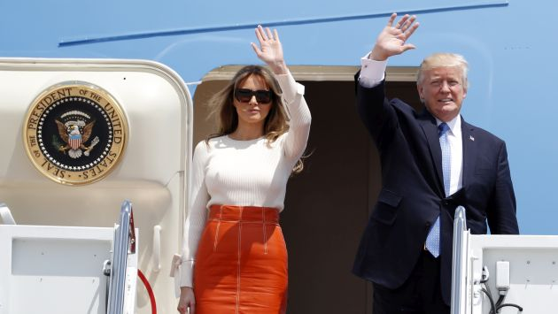 Donald Trump inicia su primer viaje al extranjero con un itinerario considerado peligroso (AP)