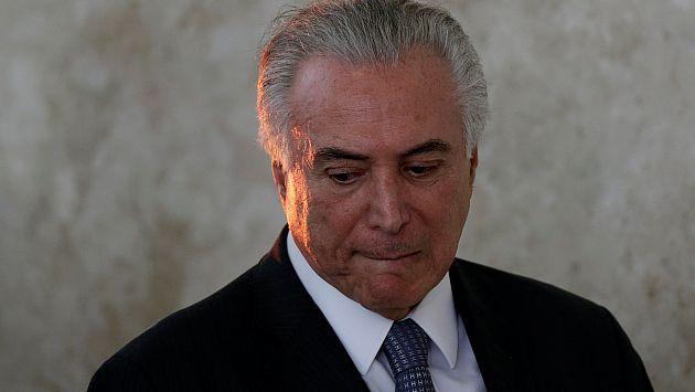 Brasil: Fiscalía general señaló que presidente Michel Temer será investigado por obstaculizar la justicia (Agencias)