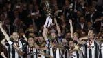 ¡Tricampeón de Copa Italia! Juventus conquistó el título tras derrotar 2-0 a Lazio [FOTOS Y VIDEO] - Noticias de temporada 2013