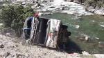 Apurímac: 12 muertos y más de 20 heridos dejó volcadura de bus interprovincial en Challhuanca [VIDEO] - Noticias de luis huamani