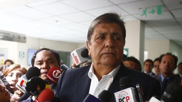 Alan García planteó continuar con Aeropuerto de Chinchero como obra pública. (Renzo Salazar)