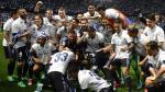 Real Madrid venció 2-0 a Málaga y conquistó el título de la Liga Española. (AP)
