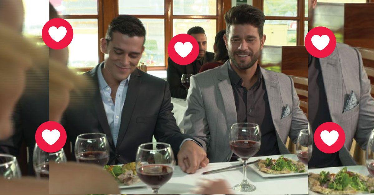 Christian Domínguez y Yaco Eskenazi se muestran como novios en esta fotos. (USI)