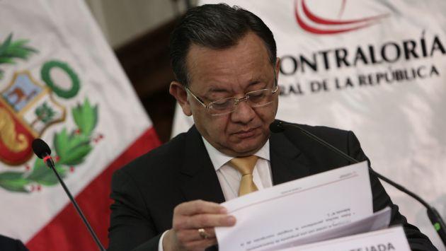 Edgar Alarcón fue criticado por el informe de auditoría al contrato de concesión del aeropuerto de Chinchero. (Perú21|)