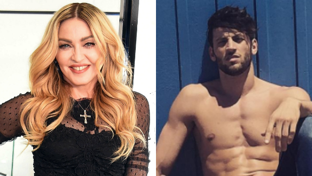 Madonna lo dejaría todo por un hombre 28 años menor que ella (Composición)