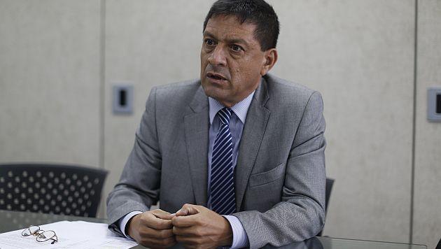 """""""Yo discrepo del análisis que realizó la Contraloría"""", dijo Antonio Balbuena Vela. (Mario Zapata)"""