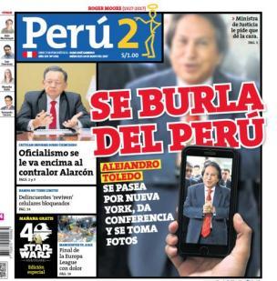 Se burla del Perú