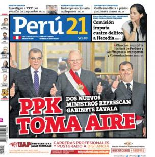 PPK toma aire
