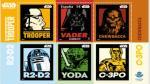 Disney lanza sellos postales de 'Star Wars' en España (Disney)