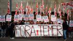Manifestantes piden renuncia de Temer y él responde sacando a las Fuerzas Armadas [FOTOS] - Noticias de odebrecht