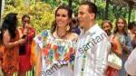 Cristian Castro se casó con su novia, la violinista Carol Urban Flores - Noticias de veronica castro