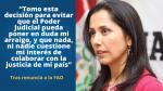 Nadine Heredia cumple 41 años: Aquí sus 15 frases más polémicas [Fotos] - Noticias de odebrecht