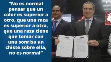 El racismo en el fútbol peruano necesita acabar y hoy Salvador del Solar dio el primer paso [FOTOS]