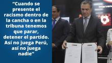 Salvador del Solar encabezó la firma del compromiso.