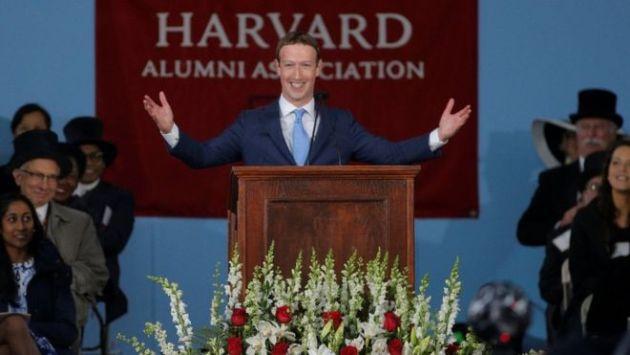 El emotivo discurso de Mark Zuckerberg en Harvard (Reuters)