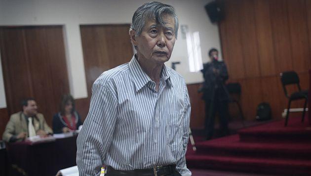 Admiten apelación en hábeas corpus a favor de Alberto Fujimori