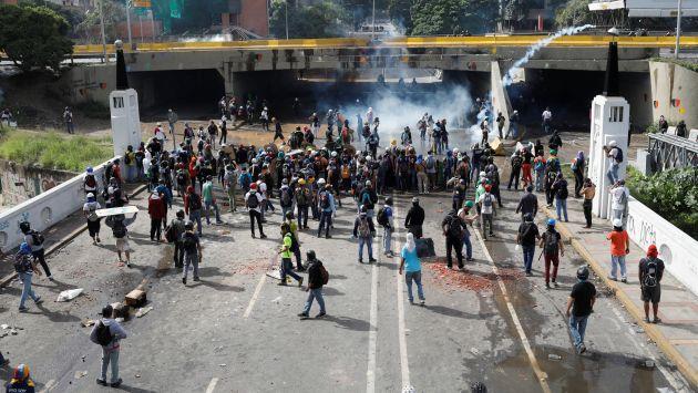 Venezuela: Ministerio público confirmó que víctimas se elevaron a 58 en los últimos días (Reuters)