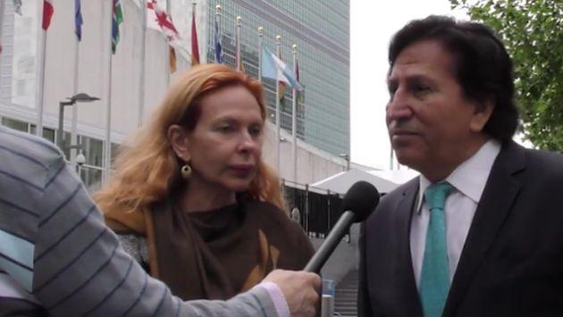 Alejandro Toledo acusa persecución política de Keiko Fujimori
