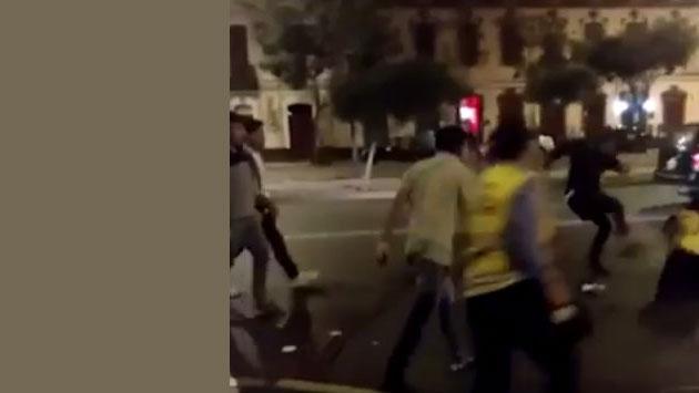 Fiscalizadores de tránsito fueron agredidos durante operativo [VIDEO]