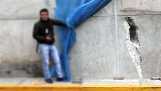 By-pass de 28 de Julio presenta 100 fisuras y esto dijo la Municipalidad de Lima