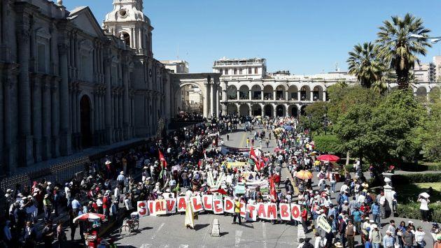 Cusco planifica paro regional desde el 31 de mayo. (Peru21)