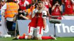 Arsenal venció 2-1 a Chelsea por la final de la FA Cup y se consagró con el título del torneo de fútbol más antiguo del mundo. (AFP)