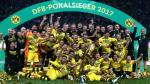 ¡Campeón de la Copa Alemana! Borussia Dortmund venció 2-1 al Frankfurt [FOTOS]