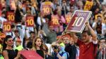 Francesco Totti se retiró de la Roma con victoria 3-2 ante el Genoa [FOTOS]