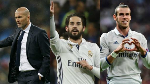 Zidane asegura que Bale e Isco pueden jugar juntos. (Composición)