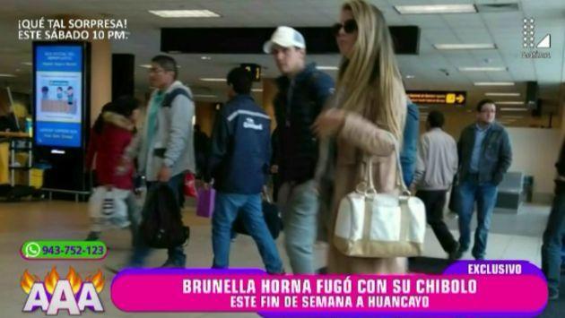 Brunella Horna pasea con nuevo amor. (Latina)