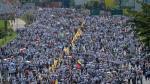 Venezuela: Opositores marchan hacia el centro de Caracas - Noticias de protesta nacional